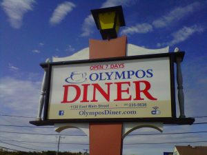 Olympos Diner connecticut